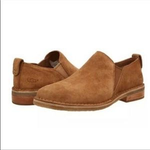 Ugg Camellia Slip on Suede Ankle Boot Size 11